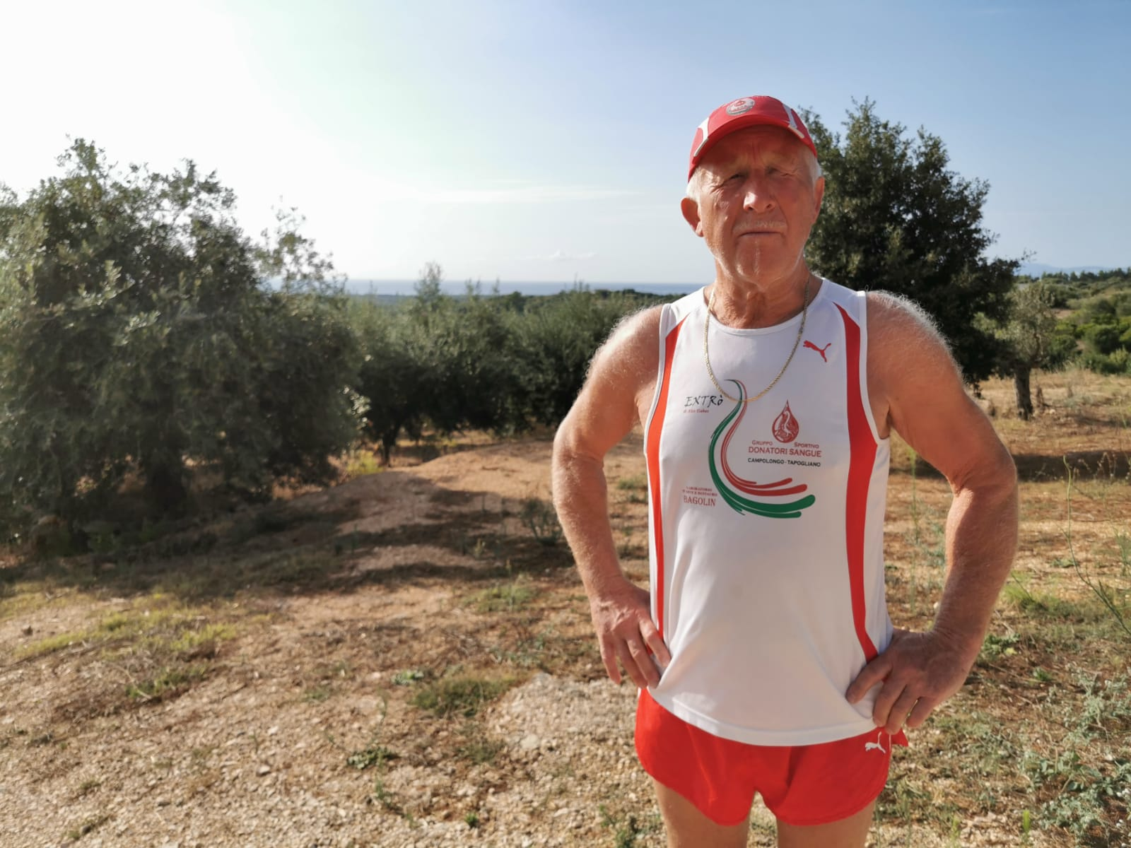 Fabiano a Orosei in Sardegna